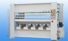 mdf pdf laminating hot press machine