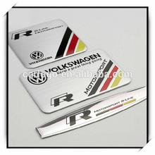 High Quality Custom Car Logo Sticker Tuning Emblems