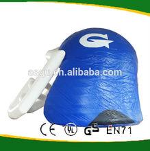 Large inflatable american football helmet for sale