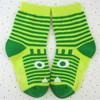 cross cute fox child tube sock