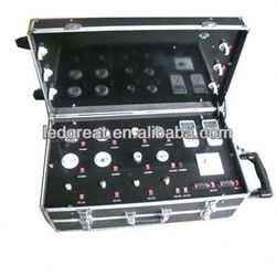 3 layer led bulb light aluminium show case eyeglass cases wholesale