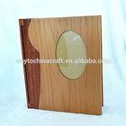 Wedding gift logo engraved wooden photo album box