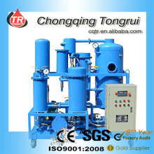 Used Lubricant Oil/Lube Oil/Lubricating Oil Treatment Purification Machine