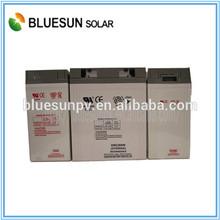 Bluesun high quality factory cheap offer 2v 600ah solar panel battery