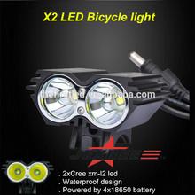 JEXREE High Power 1800lm 2xCREE XML XM-L T6 LED Cycling Bicycle mountain dynamo bike light