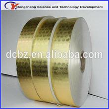 New design customized paper backed aluminum foil jumbo roll price