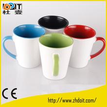 ceramic conical mug,12oz/17oz conical mug from factory direct selling