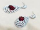 Christmas Gift earring Bridal cubic zirconia earrings