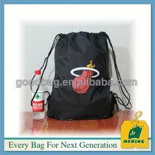 New custom two tone sport drawstring bag,MJB-O212,China manufacturer