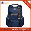 Blue Special Zipper Design Laptop bags backpacks