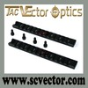Vector Optics Heavy Duty 155mm Aluminum Side Long Picatinny Rail for H&K G36
