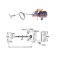 Aosoon AXNL36 level switch Type wire resistance rotary switch
