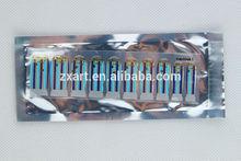 20 figure blue sky strip nail wrap