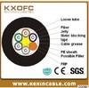 KXOFC Non-metallic Optical Fiber Cable GYFTY 2 cores fiber optical cable