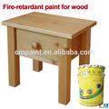 a prueba de agua a base de agua industrial efecto a prueba de fuego de barniz para la madera de la función de la pintura