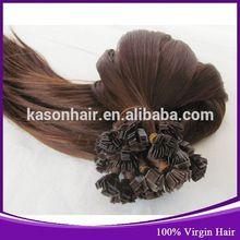 Ali Baba Kason Hair Company Top Grade 6A Brazilian Deep Curly Flat Tip Hair Weft Blonde Double Drawn