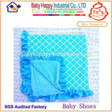 cheap handmade plush baby blankets