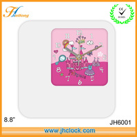 PDQ Wall Clock Square Photo Frame Wall Clock