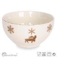 Ceramic Bowl/Christmas Dinner Bowl/Christmas new hot items for 2014
