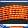 """7*10mm oil dyed non fading coral ,Sardines color Tibetan barrel coral beads,16"""" natural red coral wholesale"""