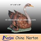 Garden Brass duck sculpture NTBH-D027