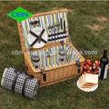 venta al por mayor baratos de mimbre cesta de picnic conjunto