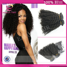 wholesale virgin indian hair remy curl wavy 100% human hair extensions