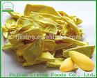 Snack food of mango crisps