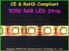 Addressable & programmable 5050 RGB LED Strip ( CE & RoHS Compliant )