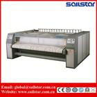 Industrial laundry roller iron & sheet ironing machine