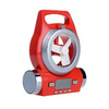 Newest led table lamp portable mini usb radio speaker with fan function