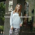 venta al por mayor 2014 nueva llegada hermosa blusa de algodón para las mujeres embarazadas ak011