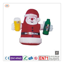 2015 top quality inflatable christmas cartoon factory price