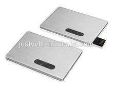 Brand A Chip Metal Usb Flash Drive, Slide Card Type Usb Flash Drive