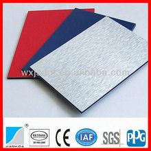 Aluminum composite panel building material