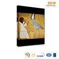 이집트 여성과 동물 섹스 캔버스에 유화