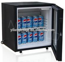 Yilang 36L minibar hotel fridge absorption refrigerator no frost mini fridge