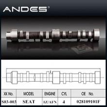 Auto Engine Parts High Performance Camshaft for SEAT TOLEDO SXE/ALHAMBRA SXE/ IBIZA 1.9TDI ENGINE: 1Z/AFN OE: 028109101F