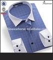 camisa de vestir de algodón egipcio