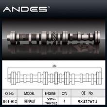 Auto Engine Parts High Performance Camshaft for RENAULT Master/MASCOTT/SAFRANE/TRAFFIC 2.8TDI Engine: S9W-700/702 OE: 98427674