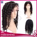de alta calidad del pelo humano glueless pelucas llenas del cordón nudos blanqueados para las mujeres