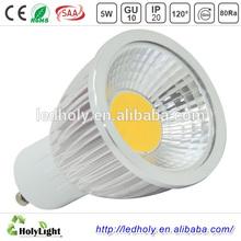 2014 cost down LED Product aluminum 5w cob led spotlight, gu10 led spot, led bulb gu10