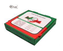 logo printed cheap Eco-friendly packaging wholesale and custom pizza box