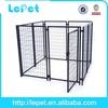2014 wholesale welded tube durable outdoor custom welded dog kennel