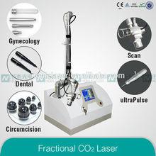 multi funcion co2 fraccionado laser equipo de bellezpara el cuidado de piel elimilar acne, arrugas, cicatrices, rejuvenecimiento