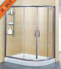 circular 2 sided sliding door shower enclosure HEHUI MZKY-8012-018