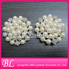hot sale charming flower rhinestone pearl brooches
