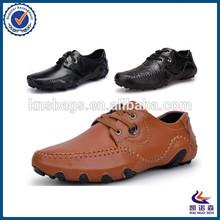 England lace-up men guangzhou leather shoe market