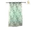 high quality stripe curtain design cheap sheer stripe pattern printing curtain panel