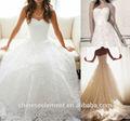 bianco avorio abiti da sposain pizzo 2015 nuova moda personalizzati vintage abito da sposa con lungo strascico f17